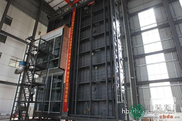 华中地区最大的幕墙检测设备落户汉南