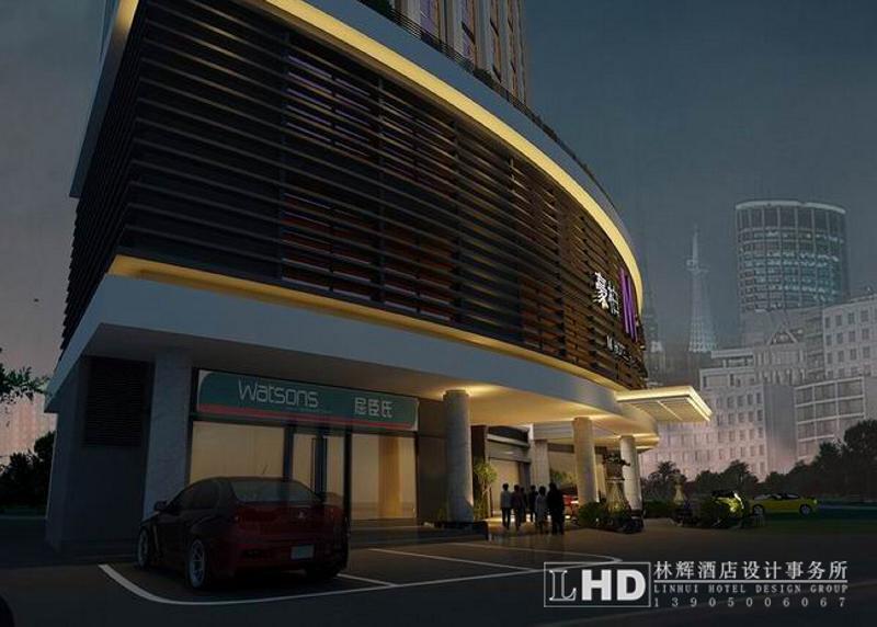 福州豪柏大酒店设计方案